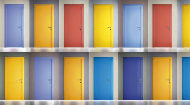 自由な感性を彩る扉 イタリア製室内ドア アイエム 1000colors Door