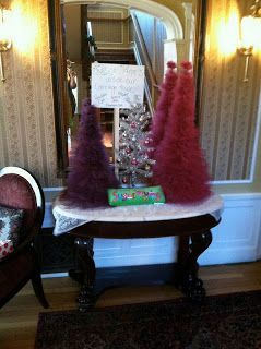 Isa Creative Musings: Vintage Music  Paper and Tulle Christmas Trees