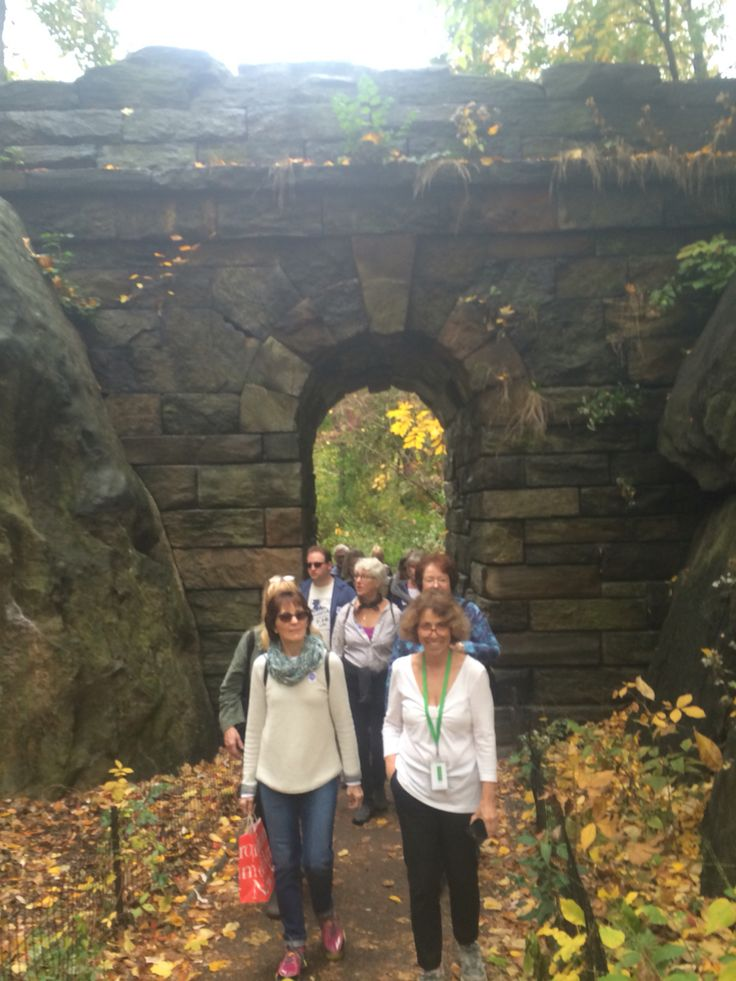 The staff of Olana and Cedar Grove greatly enjoyed our tour of Central Park with the expert Sara Cedar-Miller. Thank you Sara!