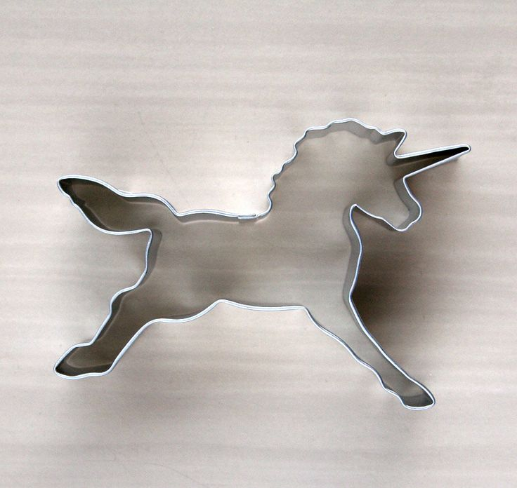 Unicorn Cookie Cutter by sweetestelle on Etsy, $2.50