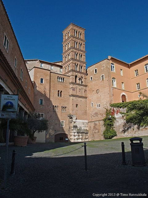 Basilica dei Santi Giovanni e Paolo (398AD) Vatican