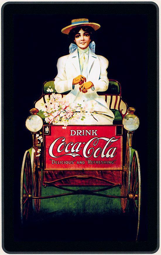 Propaganda Antiga de Coca Cola                                                                                                                                                                                 Mais