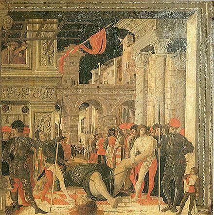 Trasporto del corpo di san Cristoforo, copia del museo Jacquemart-André