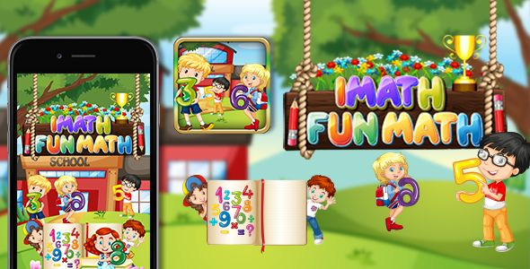 iMath Fun Learning Educational App Game for Kids by samiaa310 | CodeCanyon http://bit.ly/2iamvRa