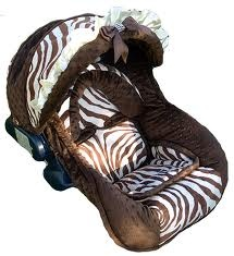 Kenya Zebra Print Baby Car Seat Replacement Cover Boys NollieCovers    photobugbabyboutique.com