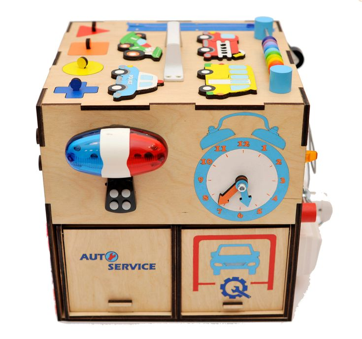 Educational toy Toddler busy board Activity sensory board ...