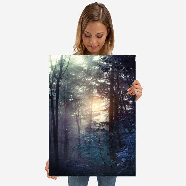 A walk in the forest by Viviana Gonzalez | Displate