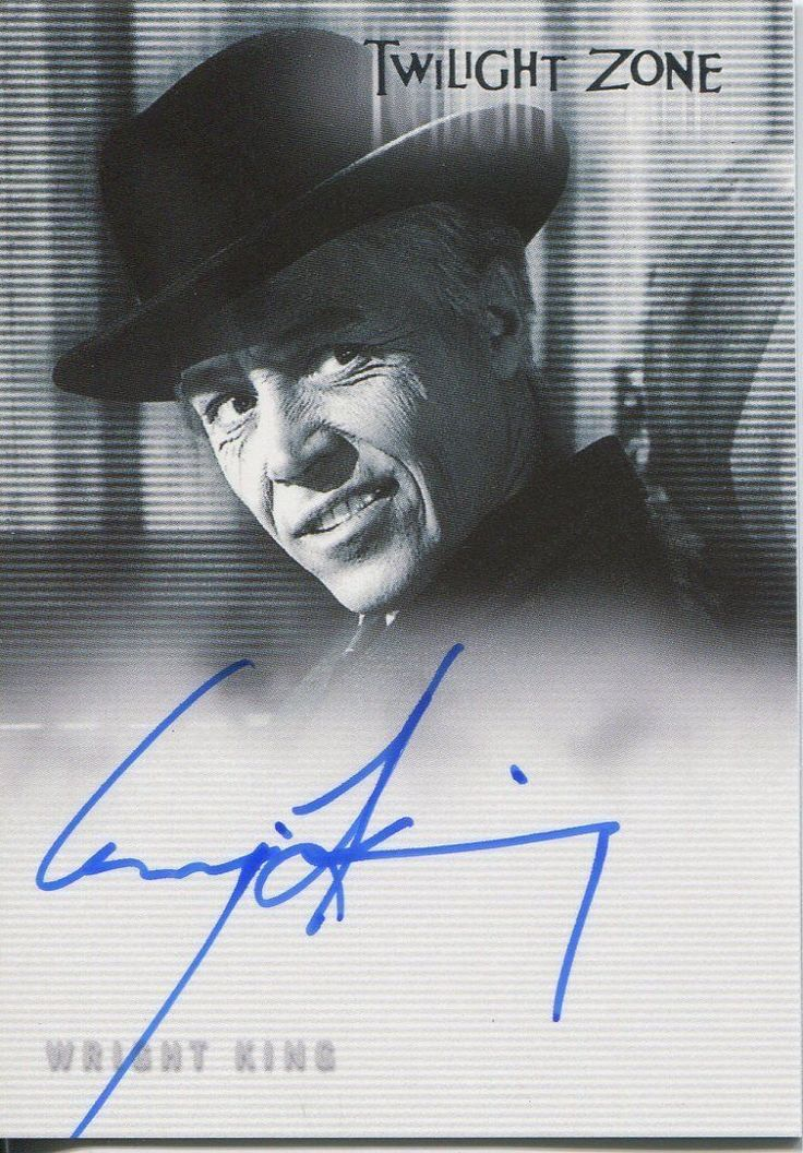Twilight Zone Series 4 Science and Superstition Autograph A71 Wright King | eBay