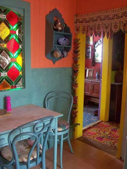 Bright Bold Bohemian Colors Romany Soup Home Sweet Home Bohemian Bathroombohemian Kitchenbohemian Decorbohemian