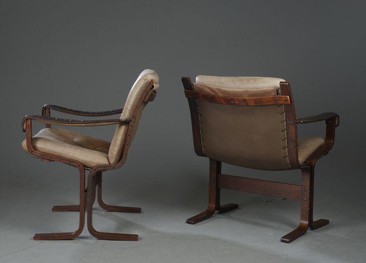 Pair of Siesta Chairs by Ingmar Relling for Westnofa.