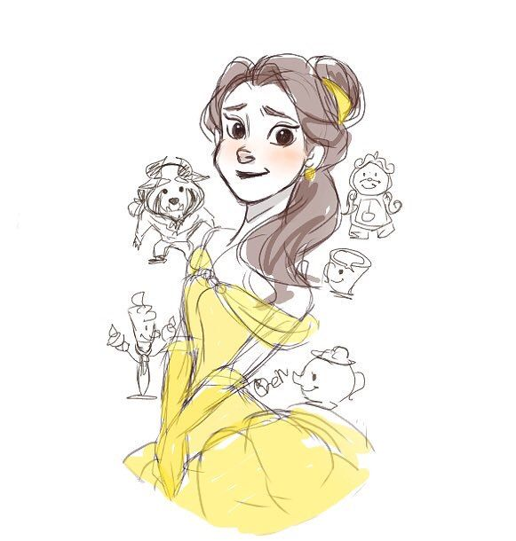 17 Best Images About Belle (Beauty And The Beast) On