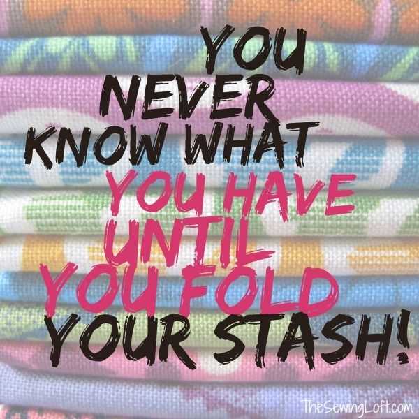 This post helped me get my fabric stash under control. Sewing Humor