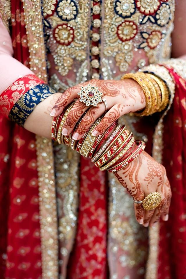 Mehndi Hands With Engagement Ring : Best ideas about my dream shaadi wedding on