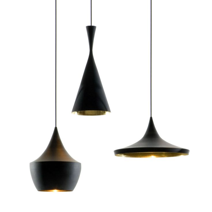 tom dixon's beat light pendant lamps are some of the very very few recent designs i like
