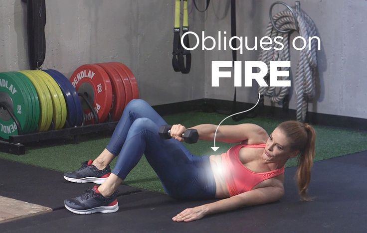Try This 3-Minute Obliques Workout for Seriously Sexy Side Abs
