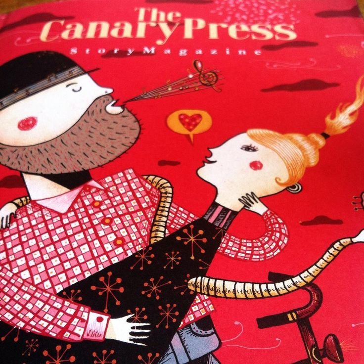 """Noggin on Instagram: """"My new favourite thing... Treat yourself to a few moments of sheer delight, and check out """"The Canary Press"""" Story Magazine... Found it at…"""""""