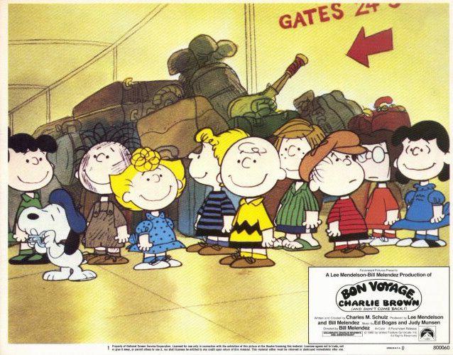 Bon Voyage Charlie Brown 11x14 Movie Poster (1980)