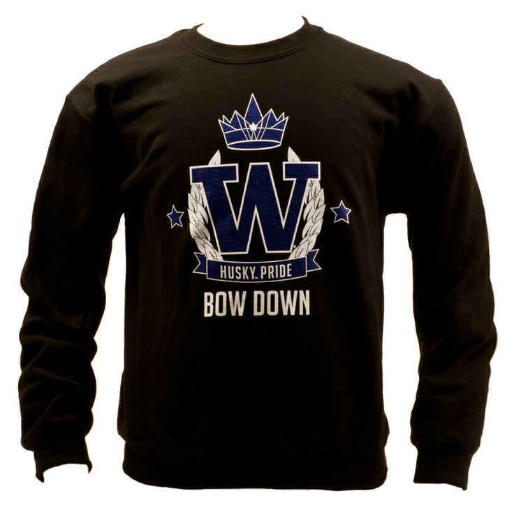 Stay warm in style. Bow down to Washington! Stop by the UW Bookstore for some new gear!