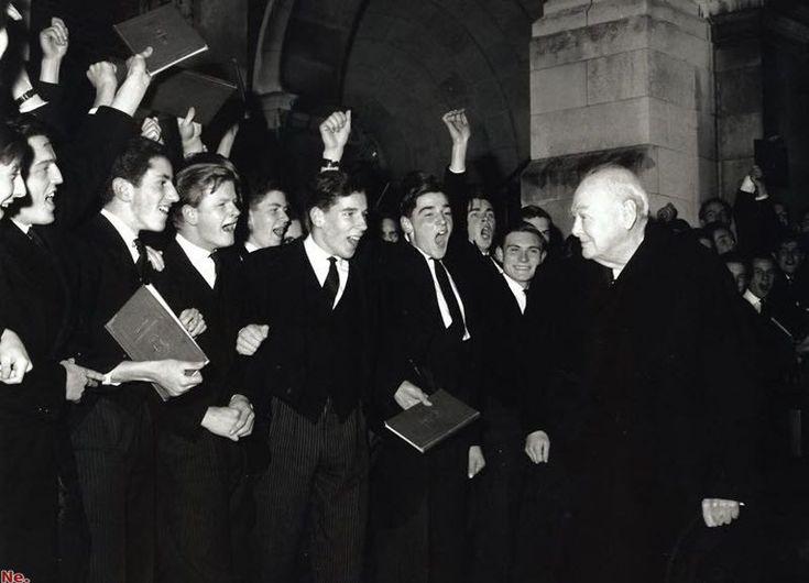 Гарри Бенсон. Черчилль в Харроу