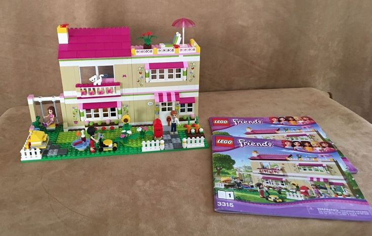 3315 Lego Complete Friends Olivias House Instruction Book