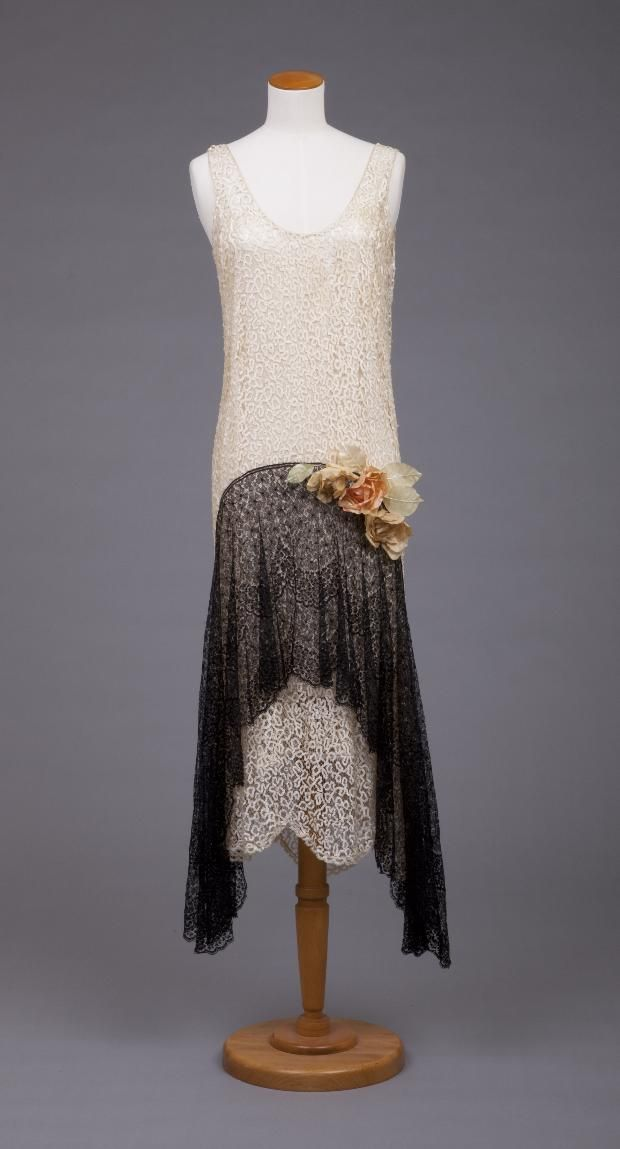 Evening Dress - 1920's - by Callot Soeurs (French, active 1895-1937) - The Goldstein Museum of Design