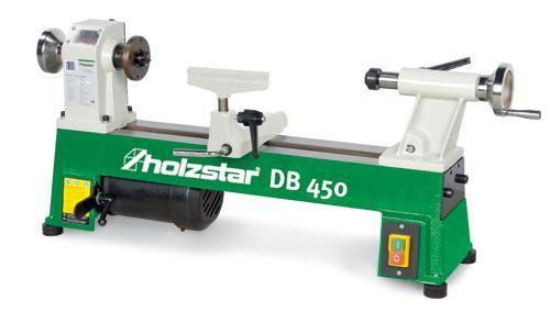 Holzstar Drechselmaschine Drechselbank DB 450 Drechsel Maschine Profi Neu