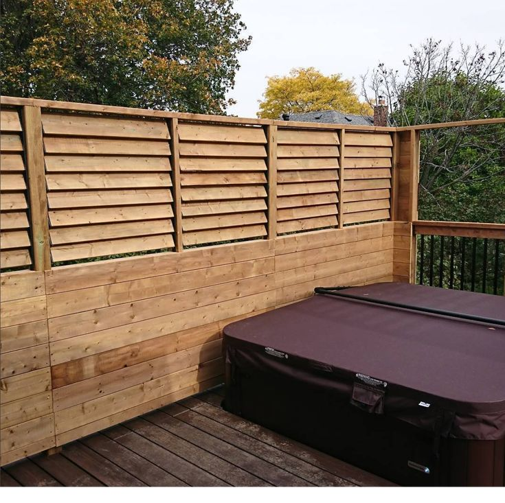 36 Best Hot Tub Privacy Spa Enclosures Images On