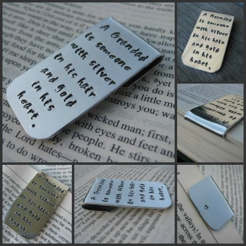 Discreet and solid, this beautiful aluminium bookmark is perfect for the bookworm in your family.