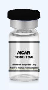 AICA ribonucleotide or AICAR (aminoimidazolecarboxamideribonucleotide) is an intermediate in the generation of inosine monophosphate, which acts as an AMP-activated protein kinase agonist. purchasepeptides.com