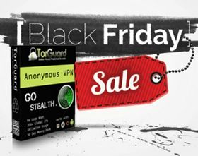 "The BlackFriday 50% off Sale is now LIVE! TorGuard is celebrating big this year by offering site wide discounts on all VPN, Proxy, and email services for this Black Friday through Cyber Monday.Discount code: ""BlackFriday"".   Don't miss out – these special discounts will only be active from November 28th – December 1st.  http://www.bestvpnserver.com/torguard-vpn/"