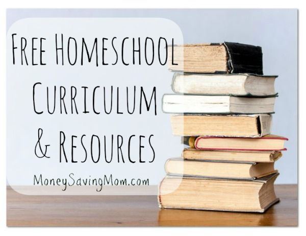 Click through for a HUGE list of free homeschool curriculum links, free printables, free ebooks, and more!