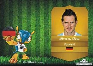 Miroslav Klose - Germany Player - FIFA 2014