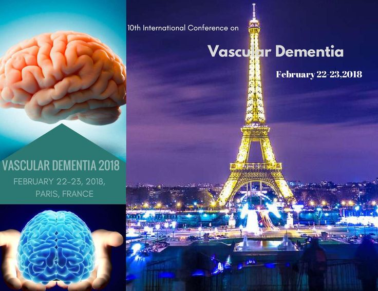 10th International Conference on #Vascular_Dementia February 22-23, 2018 Paris, France