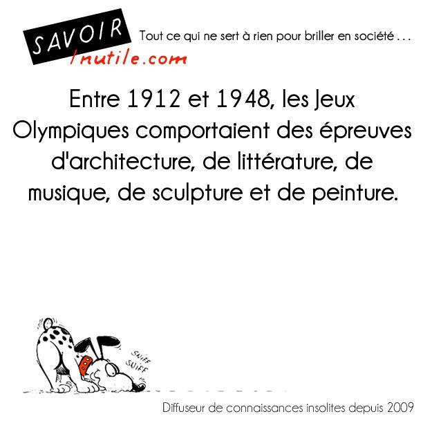 Les compétitions artistiques des Jeux olympiques
