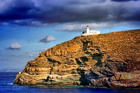 lighthouse in Kea island  Photo by peter halas — National Geographic Your Shot