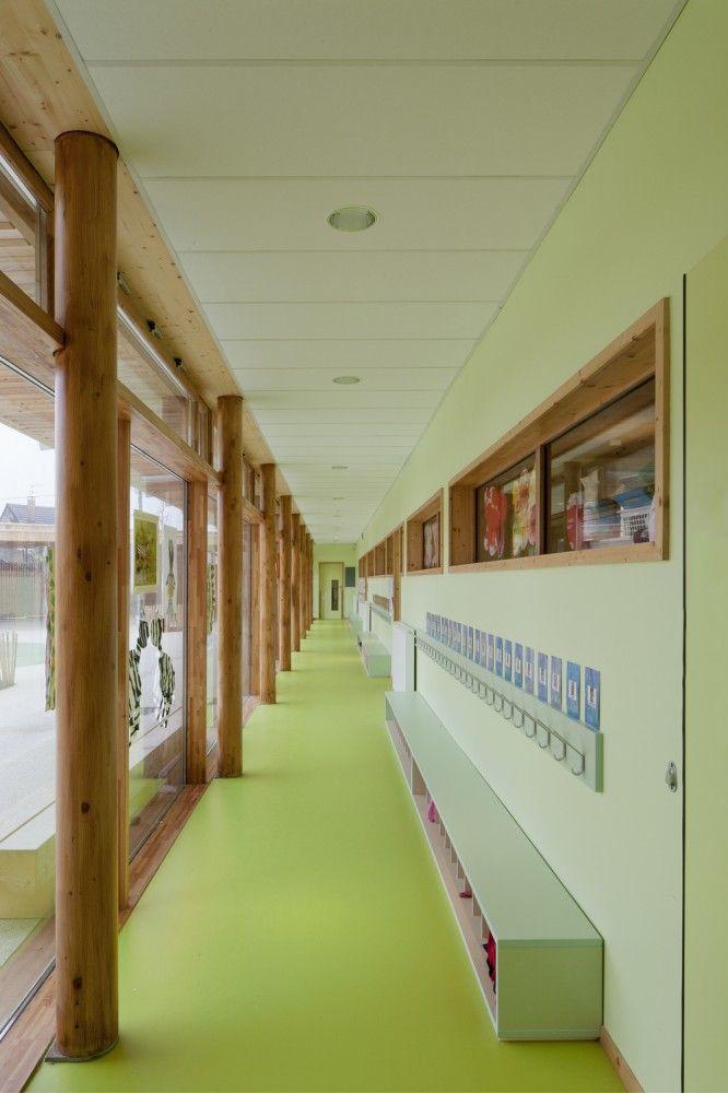 Groupe Scolaire Pasteur / wooden schools, Limeil-Brevannes, France by R2K Architectes