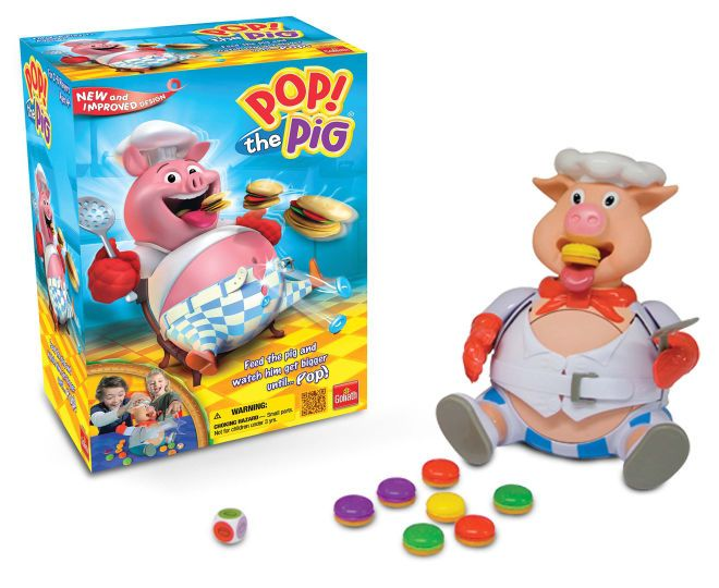 Goliath Pop The Pig Game, $29.99 plus shipping from Catch of the day.