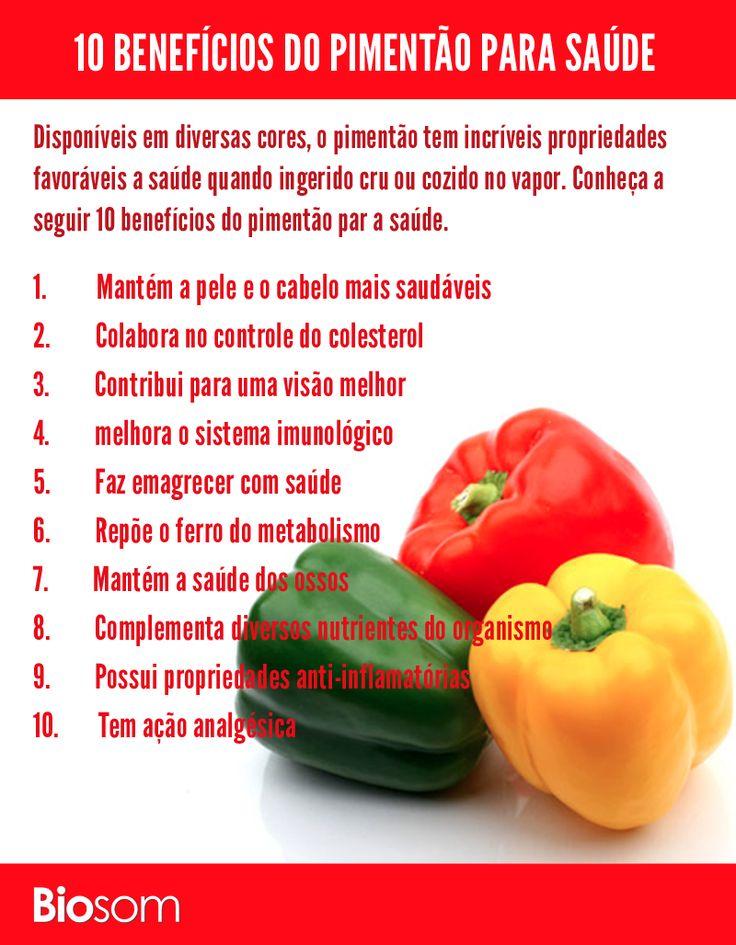 Clique na imagem para ver os 10 benefícios incríveis do pimentão para saúde…