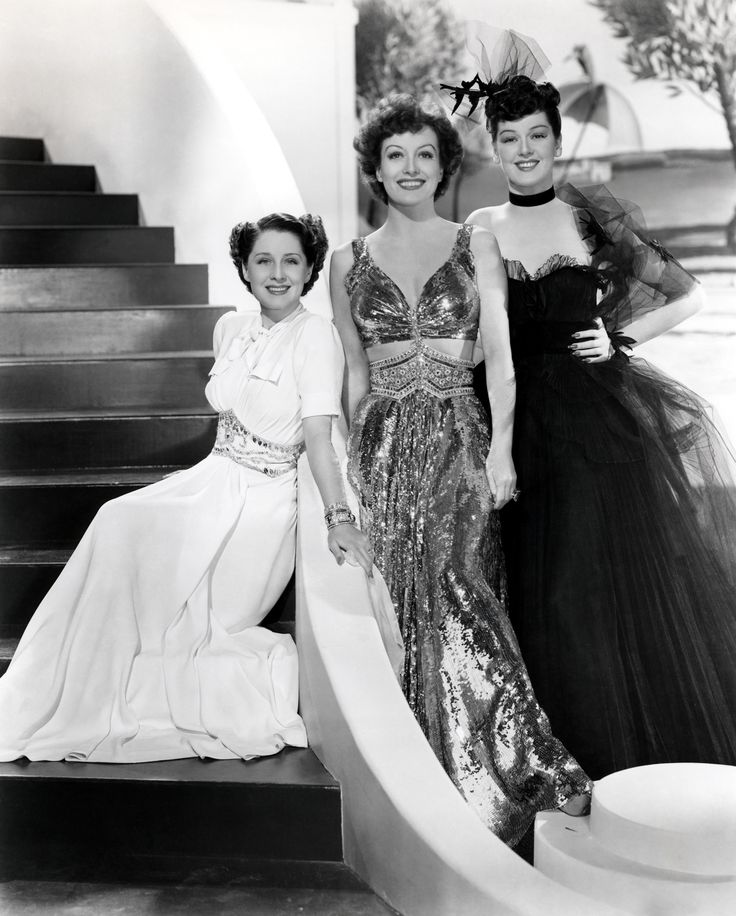 Gilbert Adrian the Women | Norma Shearer, Joan Crawford and Rosalind Russell in the cinematic classic The Women