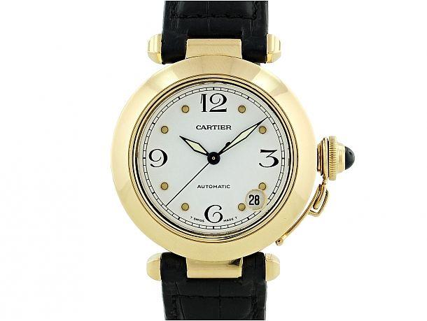 Cartier Pasha Watch in 18K - Beladora Jewelry