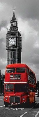 New #routemaster red bus #iconic #london sights slim poster,  View more on the LINK: 	http://www.zeppy.io/product/gb/2/141807664163/