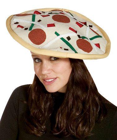 Love this White Pizza Hat on #zulily! #zulilyfinds