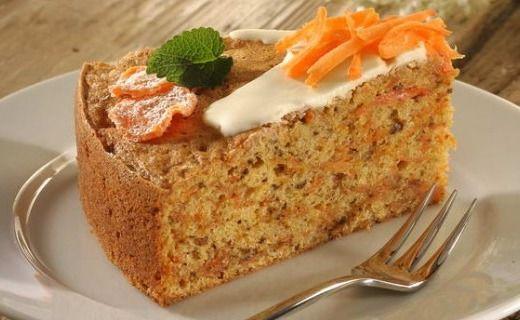 Slavnostní mrkvový dort