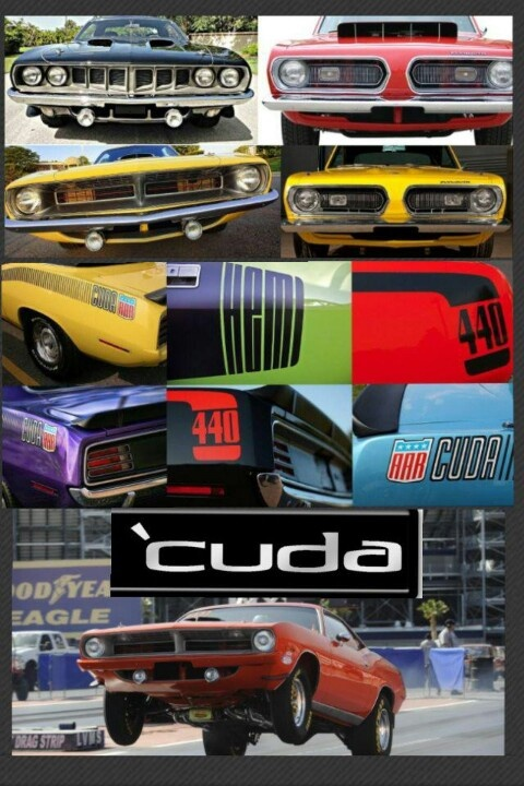 Love the Cuda!