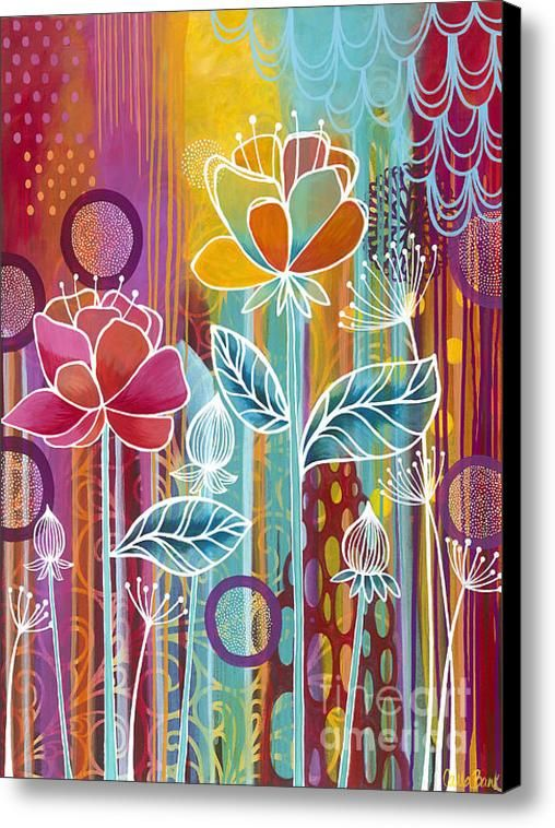 Raindrops  Canvas Print / Canvas Art By Carla Bank