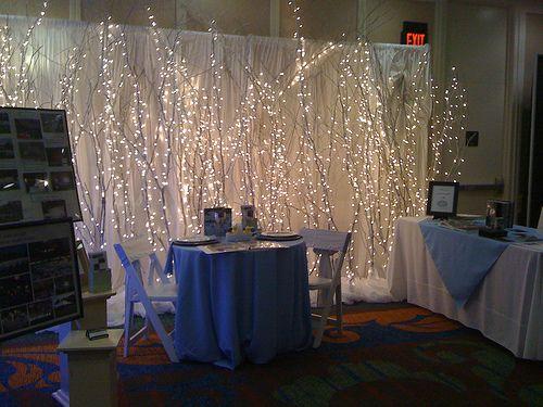Bridal Show Booths Wedding Expo Booth Sweetheart Table Backdrop Lighted Trees Wedding Fair Reception Ideas Banquet Ideas Event Ideas Booth Ideas & 14 best EXPO BOOTH IDEAS images on Pinterest | Booth ideas Bridal ... azcodes.com