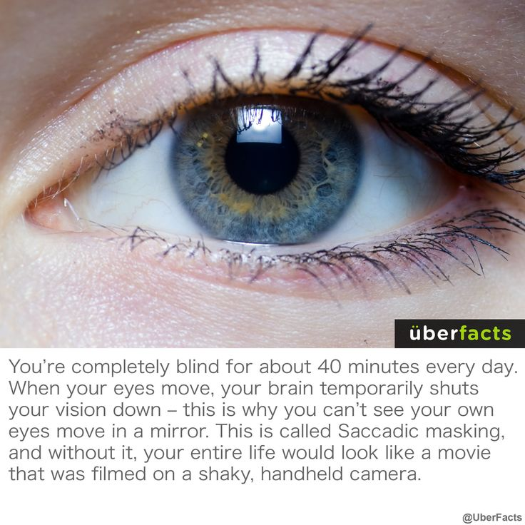 Cool things the human body does.