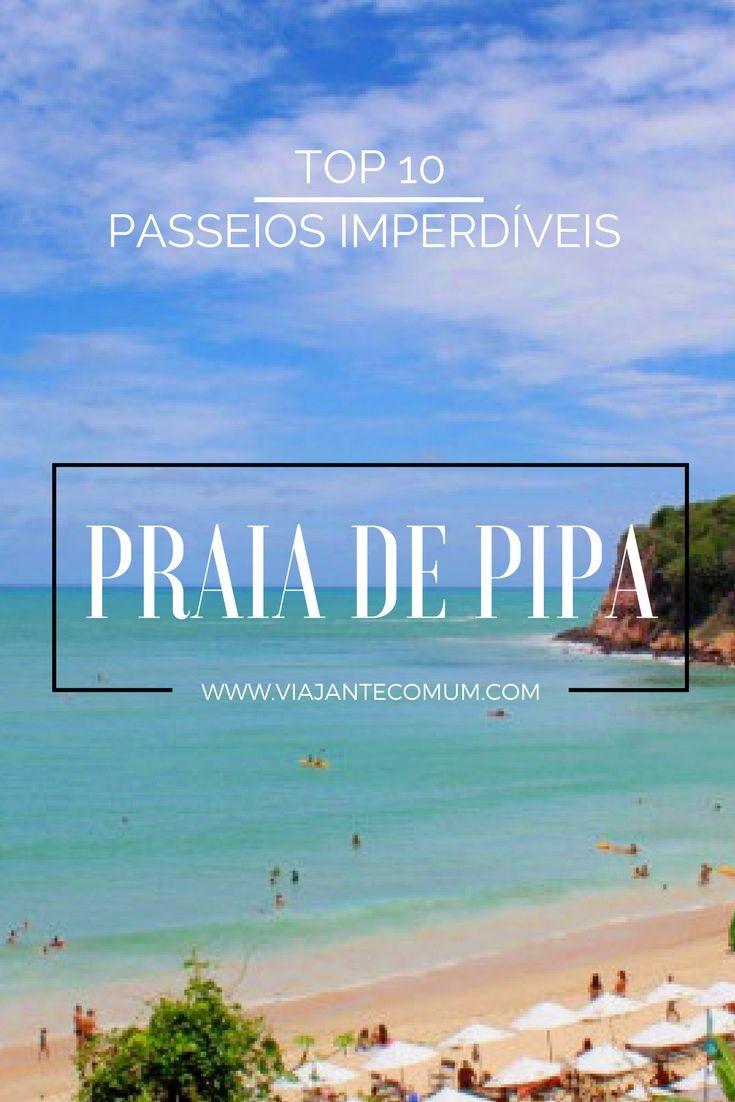 Dez passeios imperdíveis em Pipa, no Rio Grande do Norte começando com o Chapadão e terminando com um pôr do sol incrível!