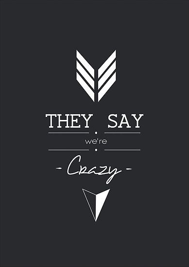 """They Say We're Crazy"" - Who We Are, Imagine Dragons by martinabelli"