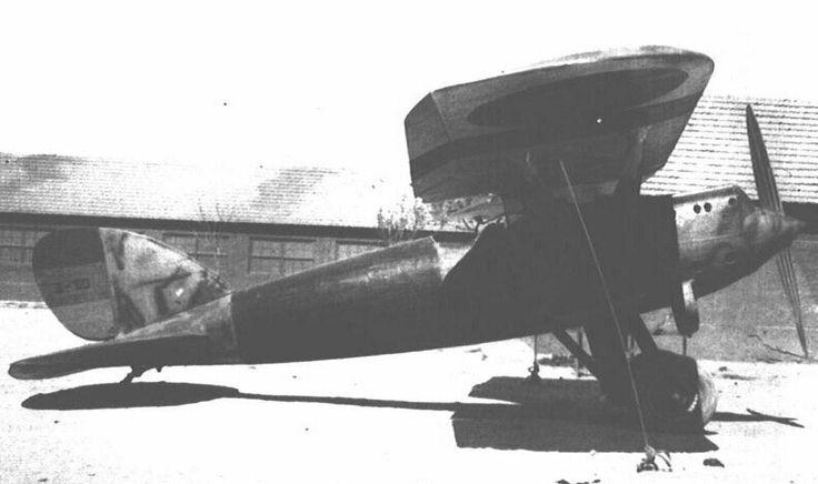 Hispano Nieuport 52 de la Aviación republicana.